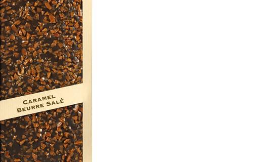 Tablette chocolat lait - caramel beurre salé d'Isigny AOP - Comptoir du Cacao
