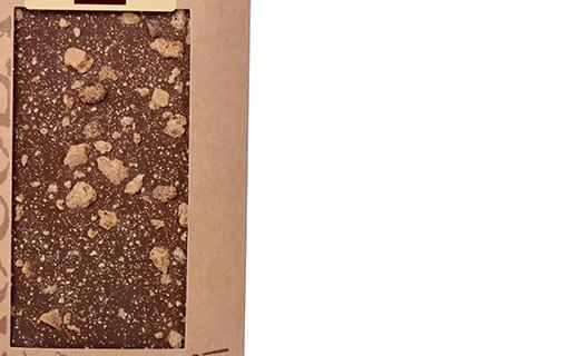 Tablette chocolat lait - spéculoos - Bovetti