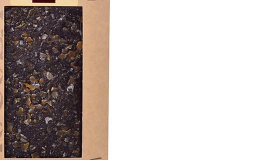 Tablette chocolat noir - caramel et sel de Guérande - Bovetti