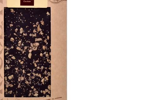 Tablette chocolat noir - fèves de cacao - Bovetti