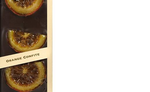 Tablette chocolat noir - orange confite - Comptoir du Cacao