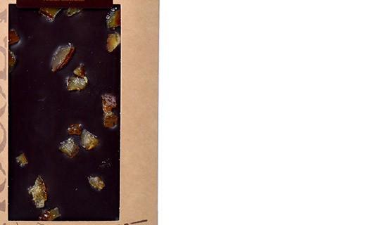 Tablette chocolat noir - oranges confites bio - Bovetti