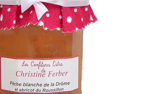 Confiture de pêche et abricot  - Christine Ferber