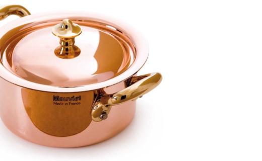 Cocotte avec couvercle 9cm - M'minis - Mauviel
