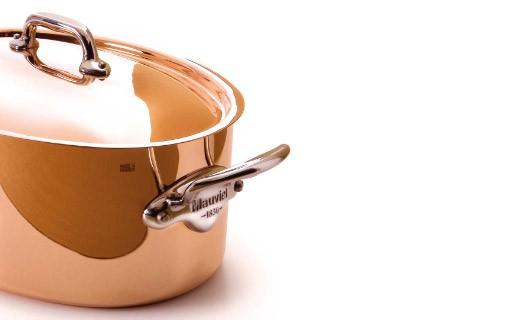 Cocotte ovale 30cm - M'héritage 150s - Mauviel