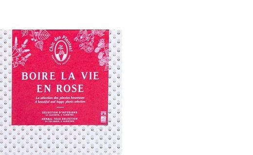 Coffret infusions Boire la vie en rose - Chic des Plantes