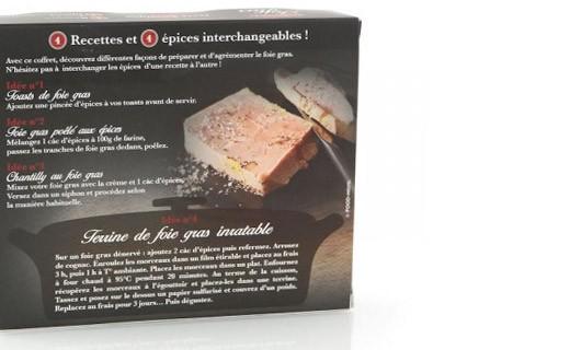 Coffret Cuisinez  le foie gras - Terre Exotique