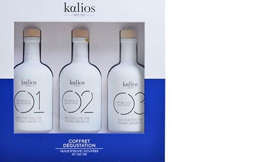 Coffret Dégustation - huiles des chefs  - Kalios