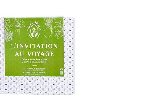 Coffret infusions L'invitation au voyage - Chic des Plantes