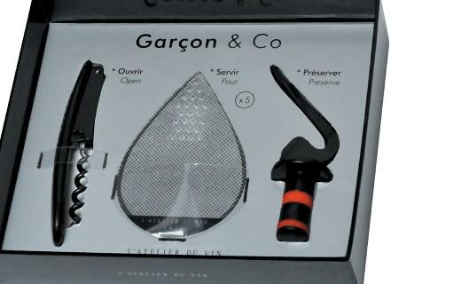 Coffret Œnologie : Garçon & Co - L'Atelier du Vin