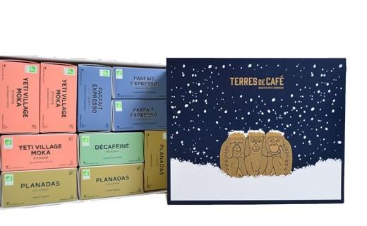 Coffret Café capsules 10 boîtes - Terres de café