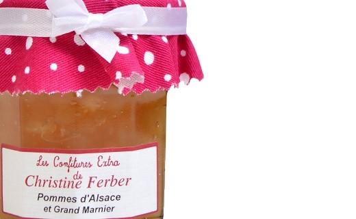 Confiture de pommes et Grand Marnier - Christine Ferber