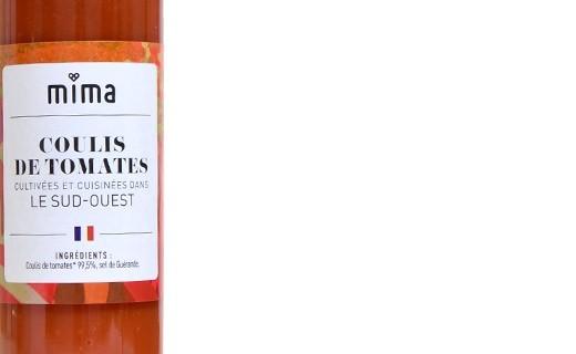 Coulis de tomates du Sud-Ouest bio - Mima Bio