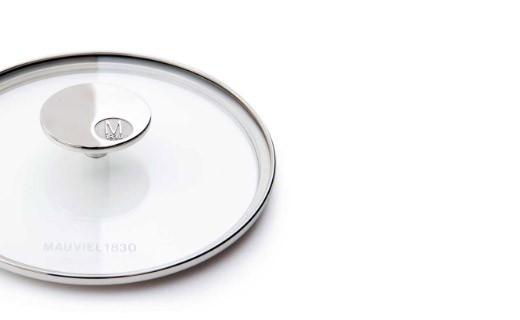 Couvercle verre 20cm - M'héritage 150s - Mauviel