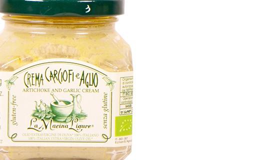 Crème d'artichauts et ail bio - La Macina Ligure