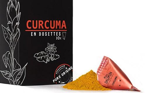 Curcuma - dosettes fraîcheur - Max Daumin