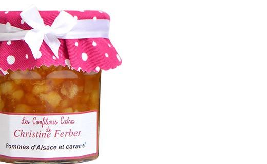 Confiture de Pommes et caramel - Christine Ferber