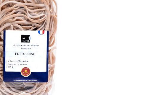 Fettuccine à la truffe noire - Le Ruyet