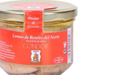 Filet de thon blanc germon à l'huile d'olive - Condor