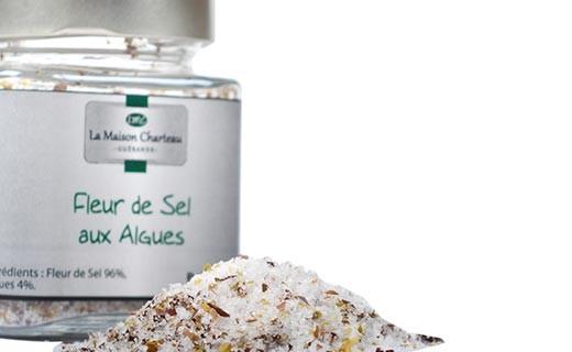 Fleur de sel aux algues - Maison Charteau