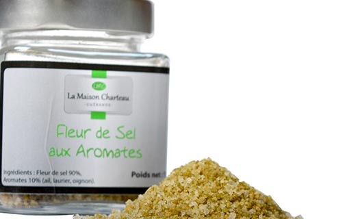 Fleur de sel aux aromates - Maison Charteau