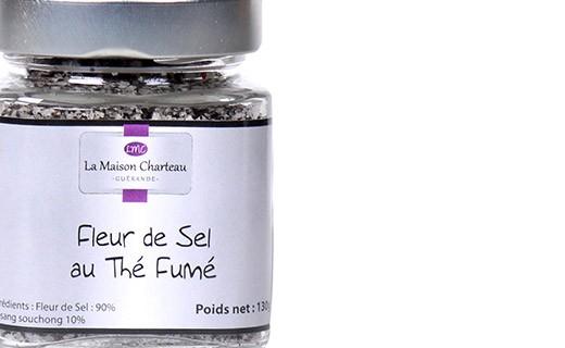 Fleur de sel au thé fumé - Maison Charteau