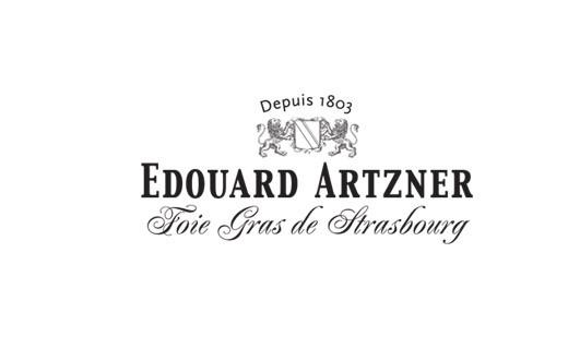 Foie gras d'oie entier truffé en torchon 600g - Edouard Artzner
