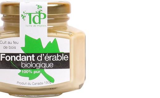 Fondant d'érable bio 100% pur - Terre de Pépites