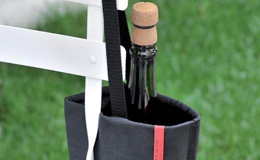 Sac à bouteille rafraîchisseur noir - L'Atelier du Vin