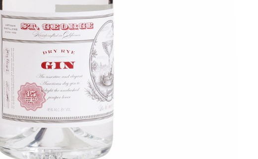 Gin Dry Rye Saint George Spirits - Saint George Spirits