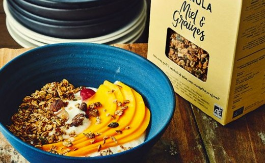 Granola miel & graines - Recette n°1 - Catherine Kluger