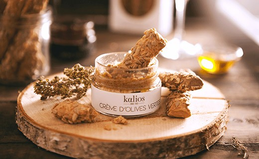 Gressins Crétois - graines de tournesol & huile d'olive vierge extra - Kalios