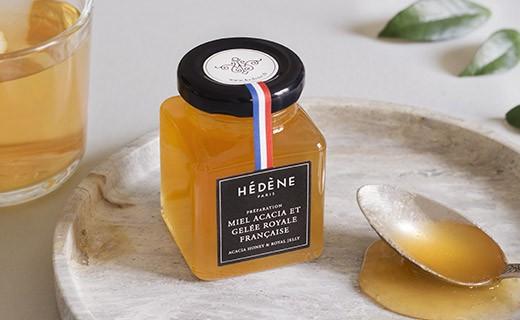 Miel d'acacia et gelée royale de France - Hédène