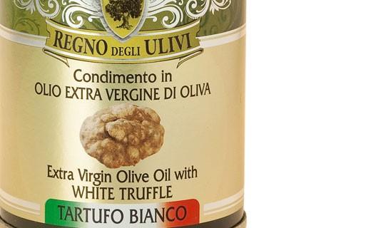 Huile d'olive à la truffe blanche d'Alba - Regno degli Ulivi