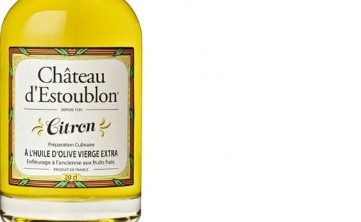 Huile d'olive aromatisée au citron - Château d'Estoublon
