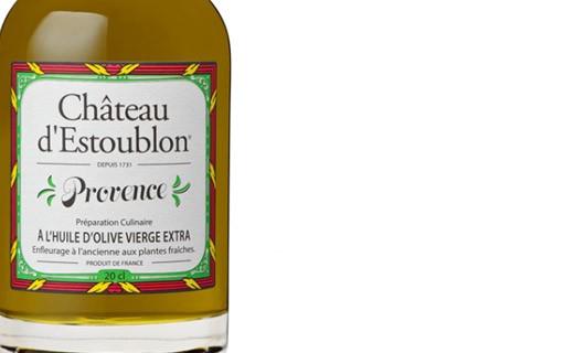Huile d'olive aromatisée aux herbes de provence - Château d'Estoublon