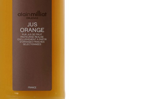 Jus d'orange blonde - Alain Milliat