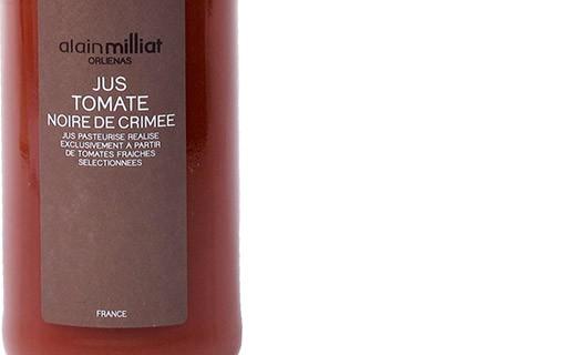 Jus de tomate noire de Crimée - Alain Milliat