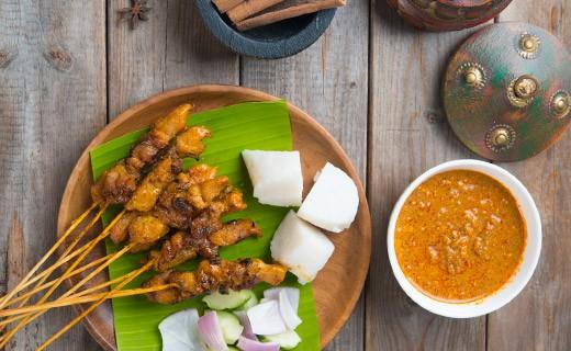 Kit recette : Brochettes satay thaï - Blue Elephant