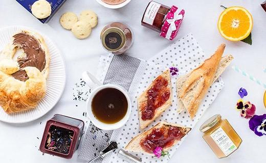 Kit petit déjeuner en amoureux - Le gourmand - Edélices