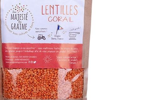 Lentilles corail - Sa majesté la graine