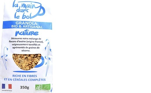 Granola bio - Nature - La Main dans le Bol