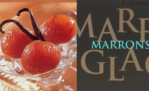 Boîte de 12 marrons glacés - Corsiglia