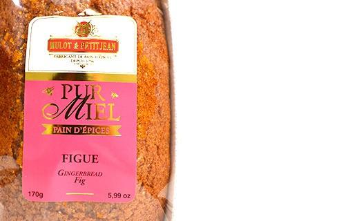 Pain d'épices pur miel - Figue  - Mulot & Petitjean