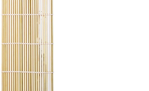 Natte en bambou pour makis -