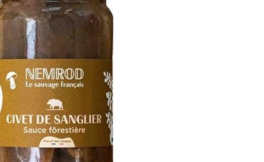 Civet de sanglier sauce forestière - Nemrod