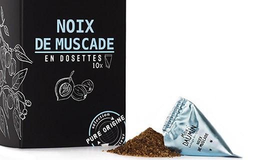 Noix de muscade - dosettes fraîcheur - Max Daumin