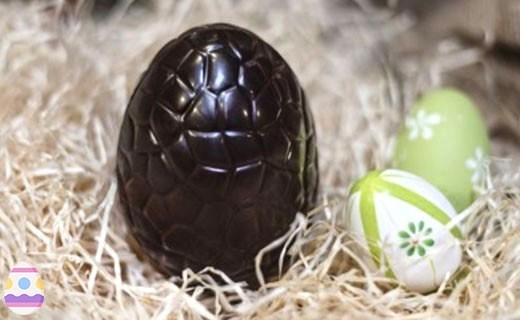 Œuf de Pâques en chocolat noir  - Chocolaterie Daniel Mercier