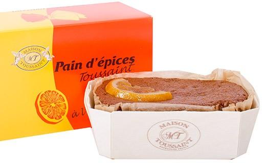 Pain d'épices - Oranges confites - Maison Toussaint