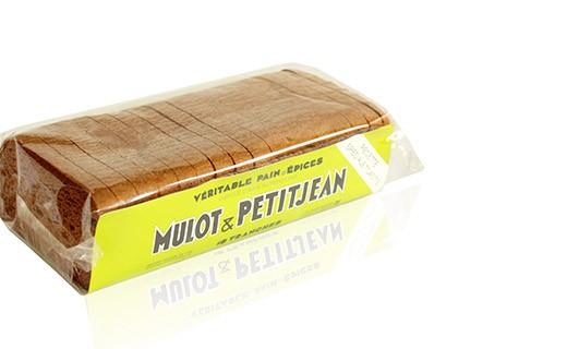 Pain d'épices tranché - spécial toast et foie gras - Mulot & Petitjean